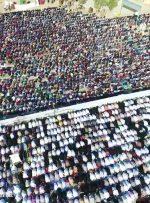 نماز عید فطر در شهر بهارستان برگزار نمی شود