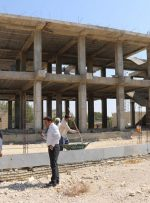 بازدید شهردار و رئیس شورای اسلامی بهارستان از مدرسه در حال ساخت میلاد