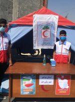 برگزاری طرح آمران سلامت در شهربهارستان و توزیع بیش از ۲ هزار ماسک بین شهروندان