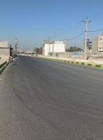 عملیات رنگ آمیزی سنگ جدول های بلوار ورودی شهر بهارستان آغاز شد.