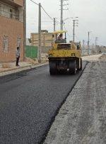 گزارش تصویری/ عملیات آسفالت بلوار چاهگچی آغاز شد