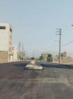 تکمیل عملیات آسفالت بلوار اندیشه در محله مرکزی