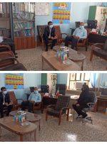 بازدید شورا و شهردار از وضعیت مدارس شهر بهارستان
