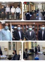 پیگیری مسائل شهر توسط شهردار و شورای بهارستان در نشست با مدیران استانی