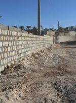 پیشرفت ۵۰ درصدی پروژه دیوار حفاظتی خیابان عابدان و صالحان شهر بهارستان