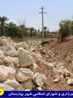 عملیات اجرایی تکمیل دیوار حفاظتی خیابان عابدان و صالحان آغاز شد